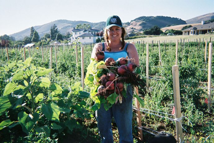 Jamie Collins, Serendipity Farms, Monterey County
