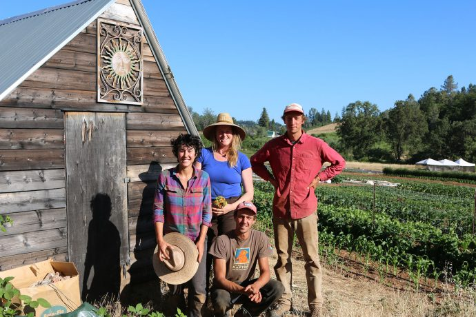 Flying V Farm: worker-owned business sets roots
